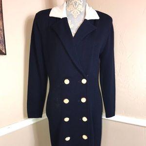 6 Vintage Button down collar dress